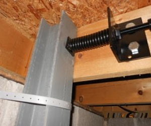 The Force Bracket Preventing A Bowed Basement Wall & The Force™ | Basement Wall Support | Basement Doctor WV