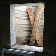 Egress Window Build Process During
