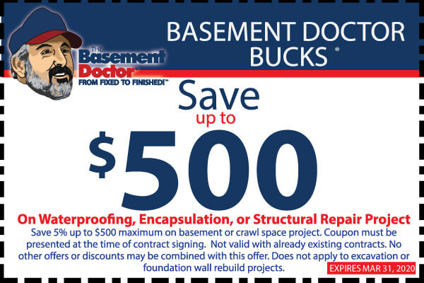 Basement Doctor WV Coupon